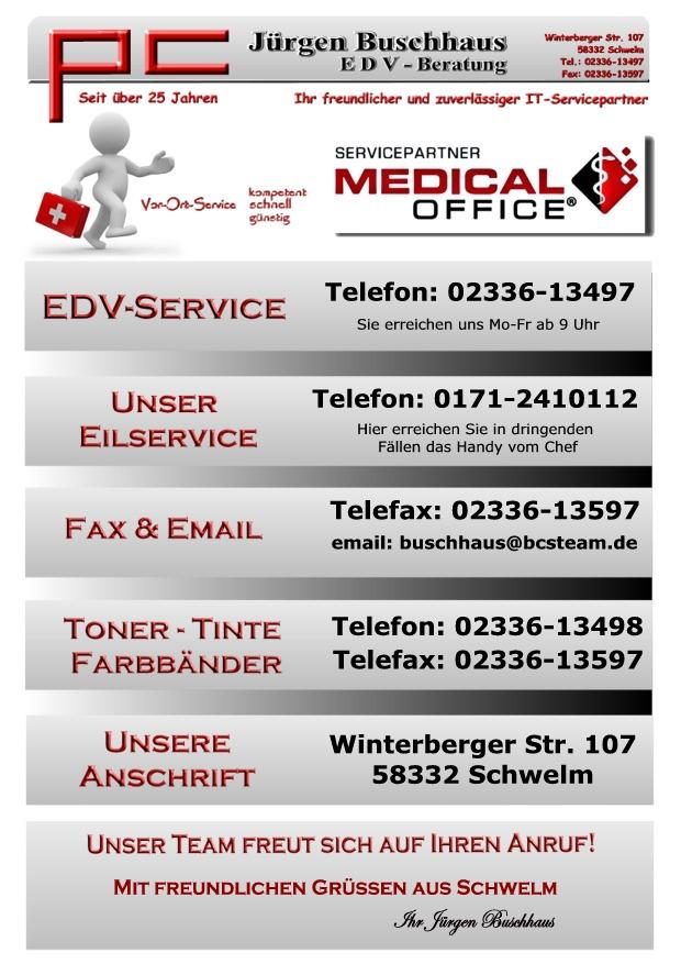 Indamed Medical Office Servicepartner in NRW - Jürgen Buschhaus EDV ...